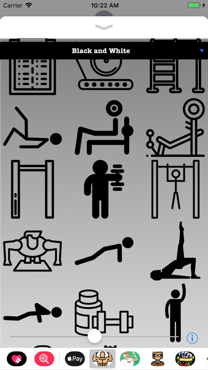 Exercise Workout HD Stickers screenshot-3
