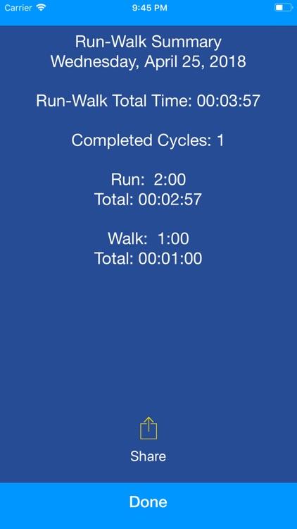 Run Walk Intervals screenshot-4