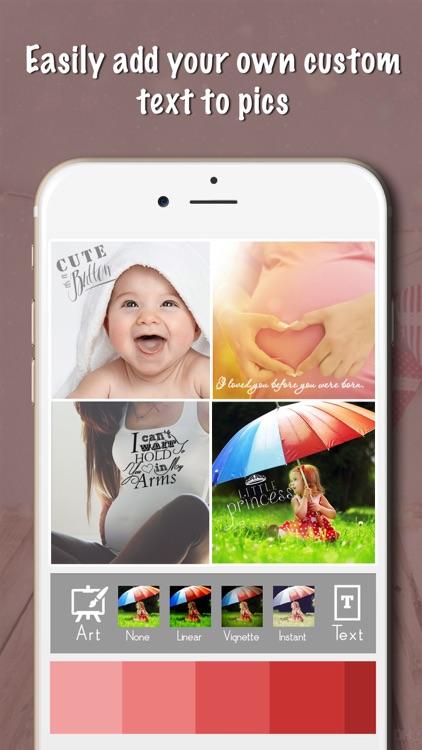 Baby Milestones Sticker Pics screenshot-3