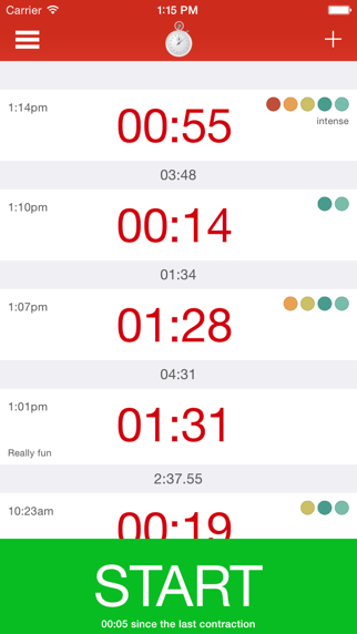 messages.download Kontraktion Timer software