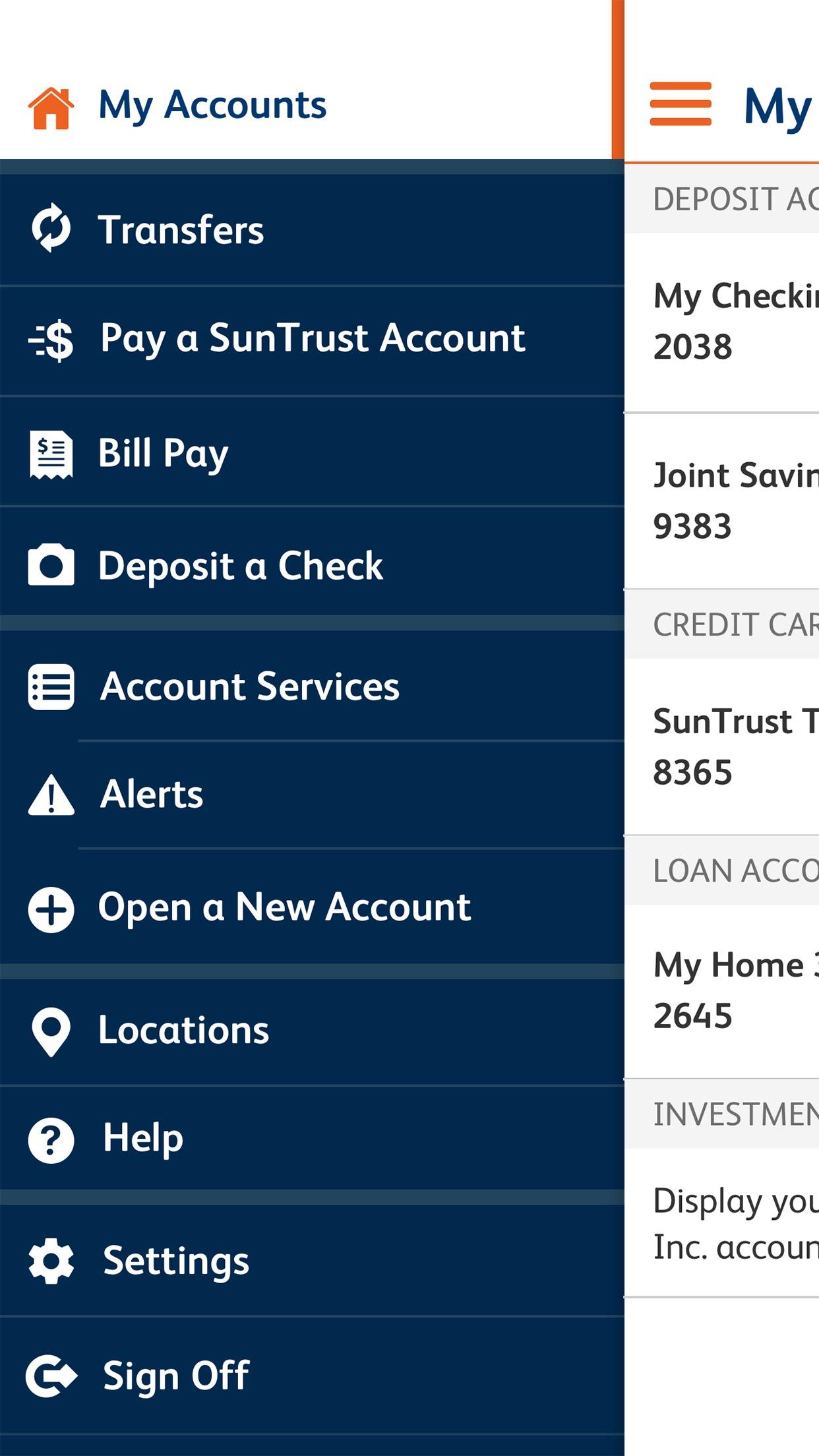 SunTrust Mobile App ASO Report and App Store Data