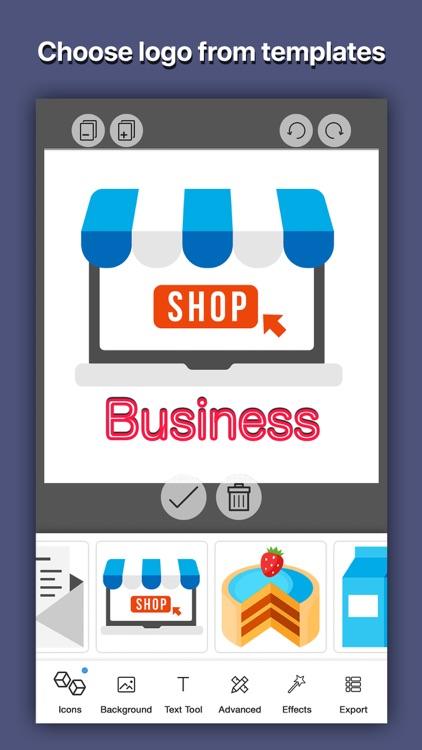Logo Shop Creator - Logo Maker screenshot-3