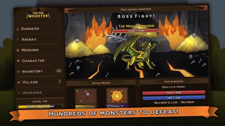 Tap the Monster - RPG clicker screenshot-6