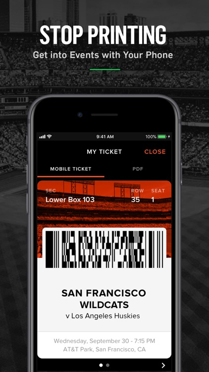 Gametime · Last Minute Tickets screenshot-4