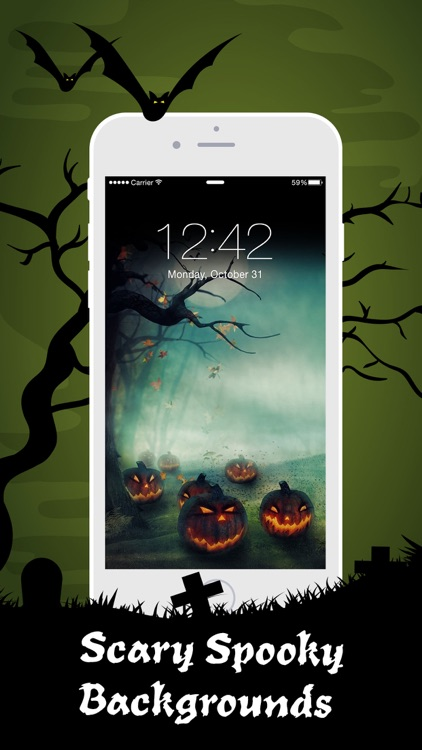 Halloween Wallpaper Sticker HD screenshot-3