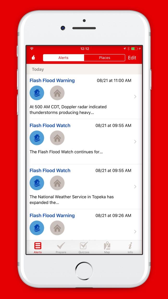 Flood by American Red Cross Screenshot