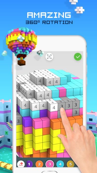 RAINBOW Color by Number screenshot 3