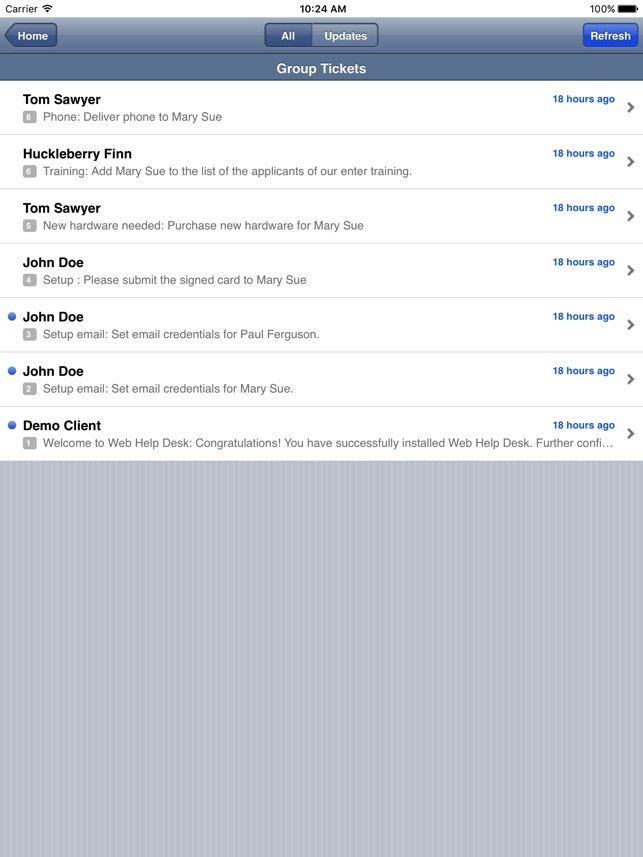 Web Help Desk Mobile On The App Store