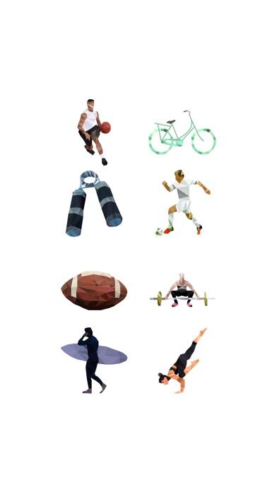 Exercise Design StickerScreenshot von 1