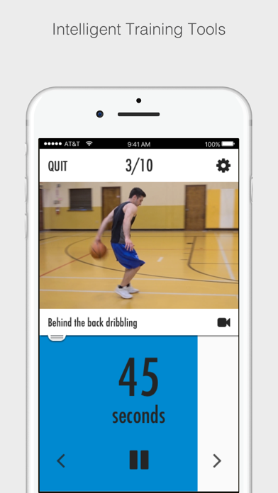 Basketball Dribbling Screenshot