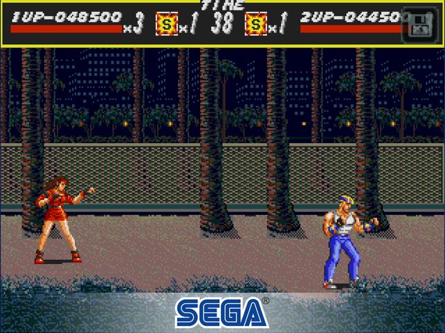 Streets of Rage Classic Screenshot