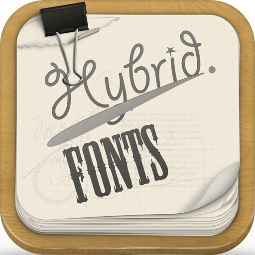 Hybrid Fonts : ⓒⓞⓞⓛ Text Fonts