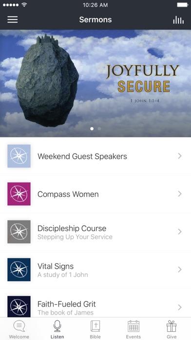 Compass Bible Church Tustin screenshot 2