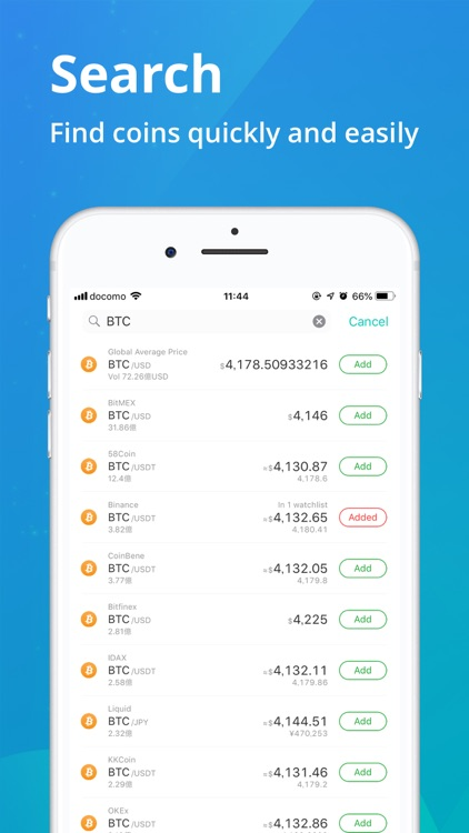 CoinView: Bitcoin Altcoin App screenshot-5