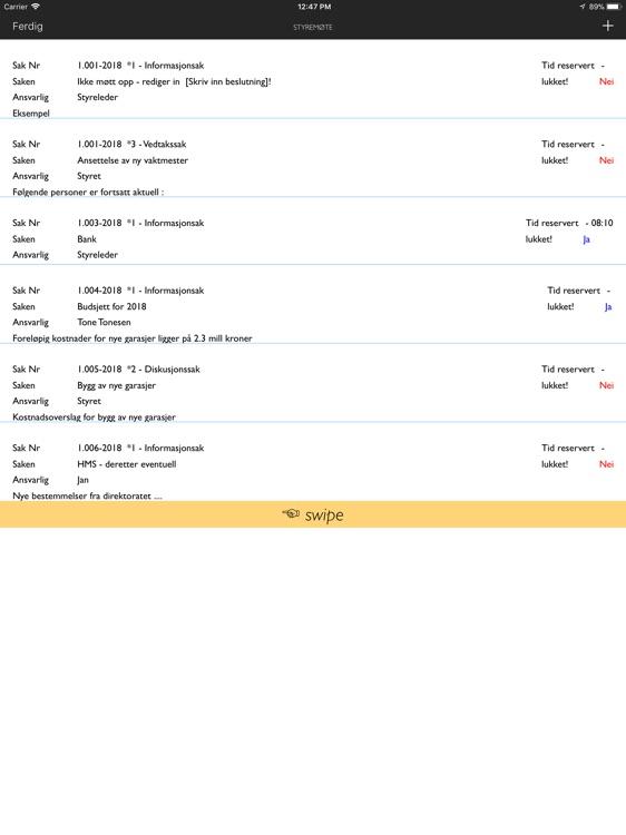 Agenda for iPad screenshot-6