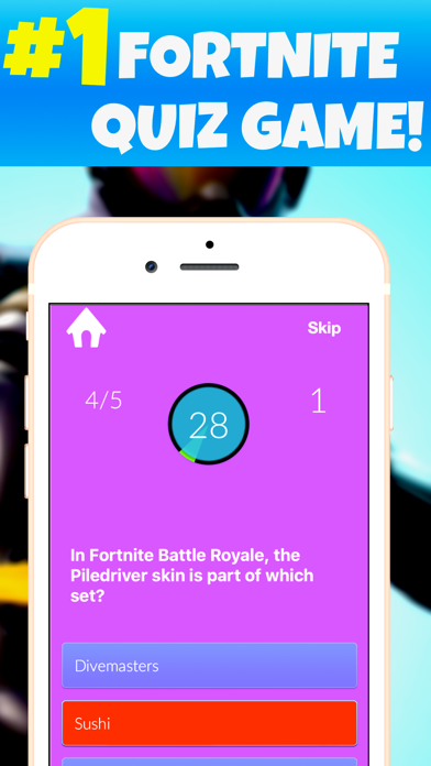 Top 10 Apps like Quiz For Fortnite Skins in 2019 for iPhone