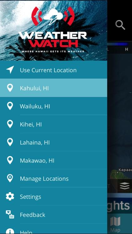 WEATHERWatch Hawaii screenshot-4