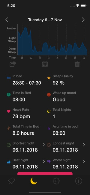 Smart Cycle Alarm PRO Screenshot