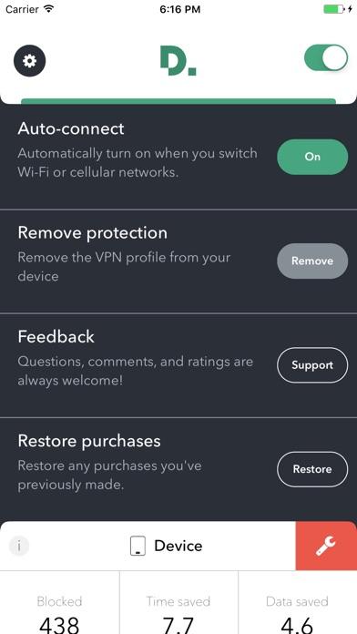 Disconnect Pro Screenshots