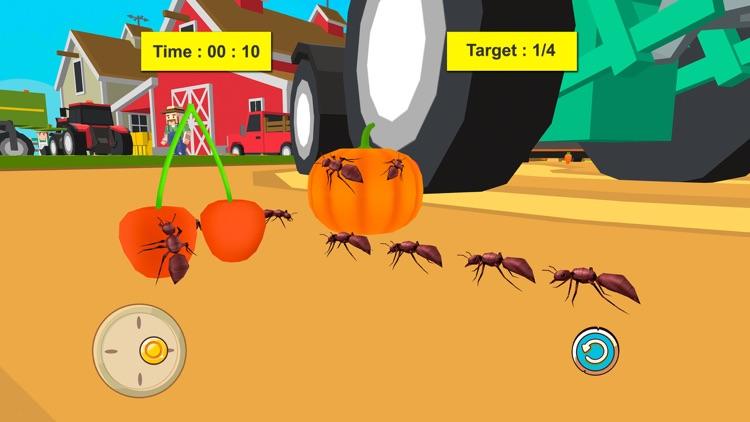 Ant Survival Simulator