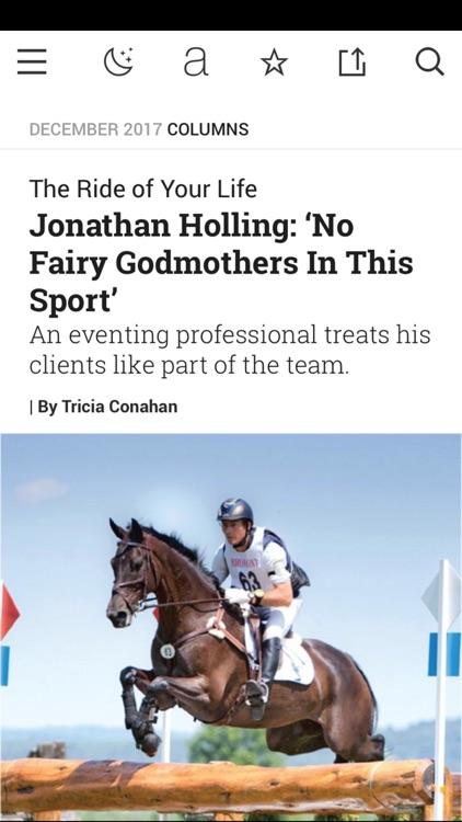 Practical Horseman Magazine HD screenshot-3