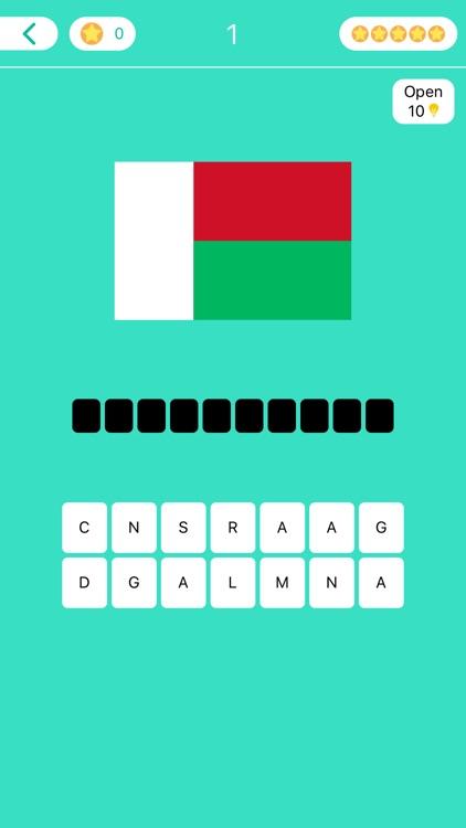 World Flags - Quiz & Puzzle