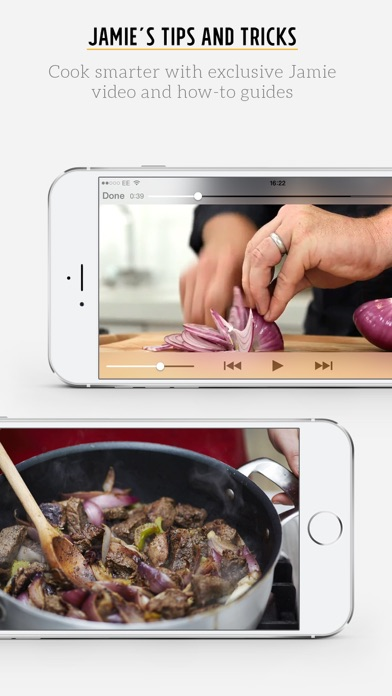 Screenshot for Jamie's Recipes in Chile App Store