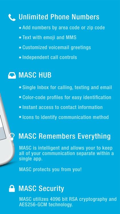 MASC Second Phone Number screenshot-4