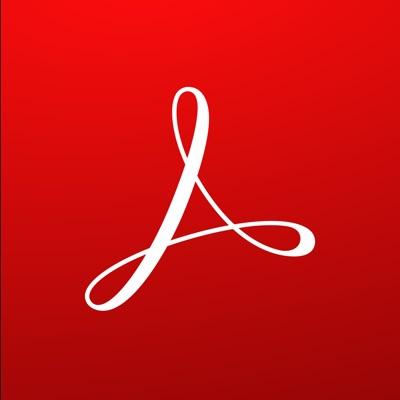 Adobe Acrobat Reader ios app