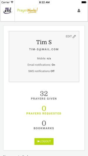 parts of iphone prayerworks on the app 5244