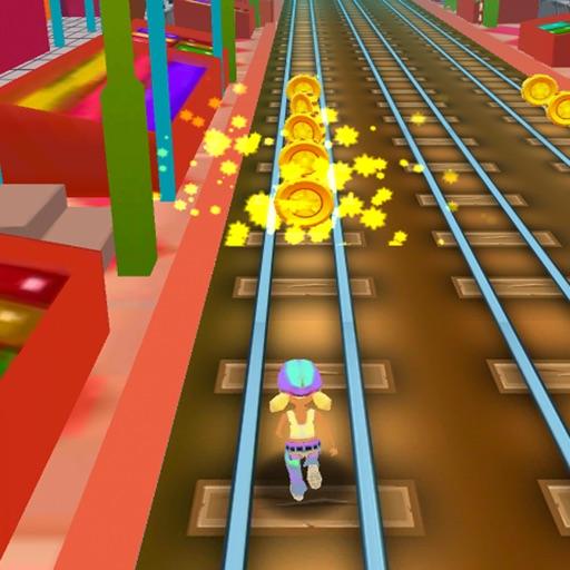 Rush Runner Train Surf 3D