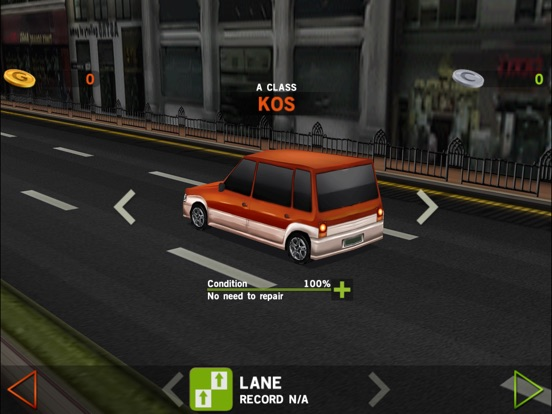 Screenshots of Dr. Driving for iPad