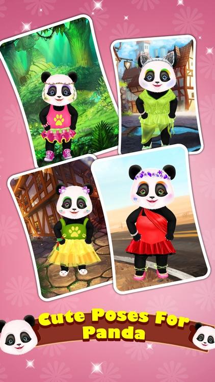 Cute Panda Care Fashion Resort screenshot-4