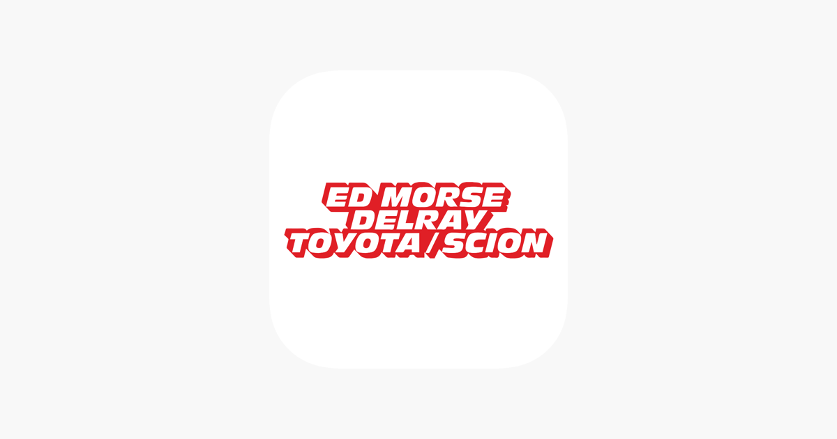 Ed Morse Delray Toyota On The App Store
