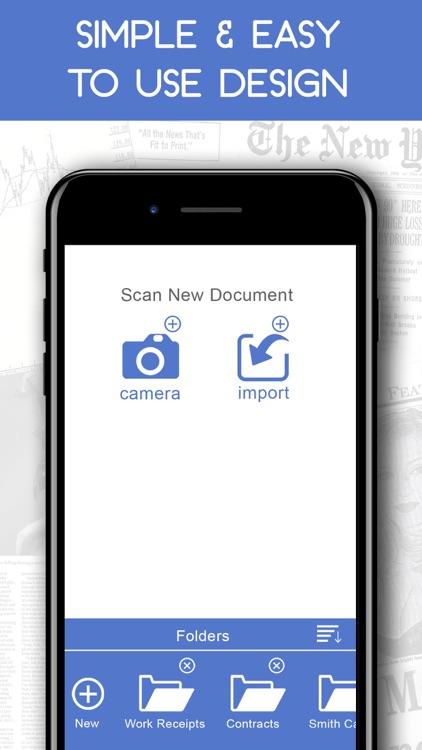 Document Receipt Scanner App Ios Apps Appagg