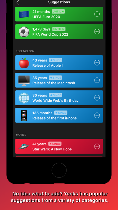 Yonks app image