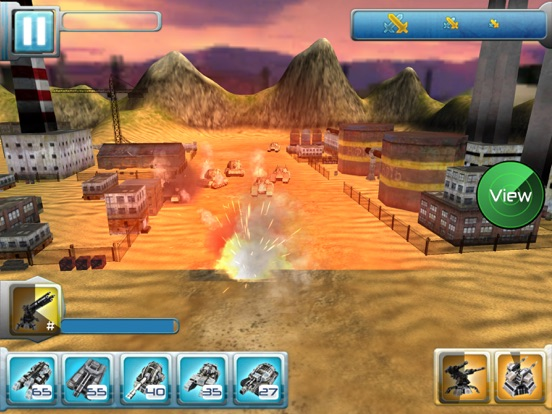 Iron Hero: Collision Screenshots