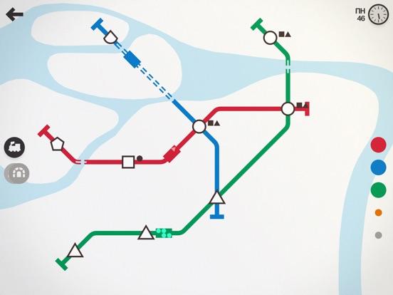 Mini Metro на iPad