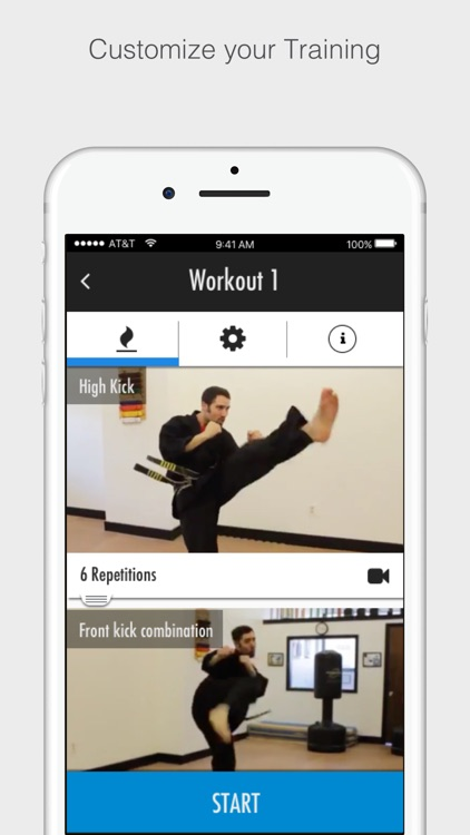 Karate Training Program screenshot-4