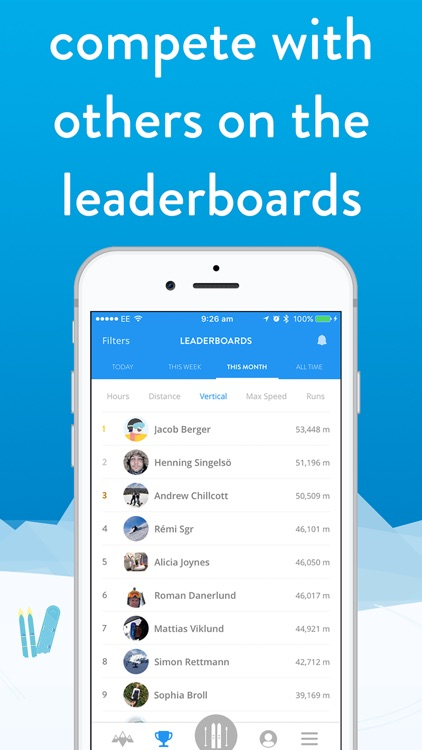 snoww: ski & snowboard tracker screenshot-6