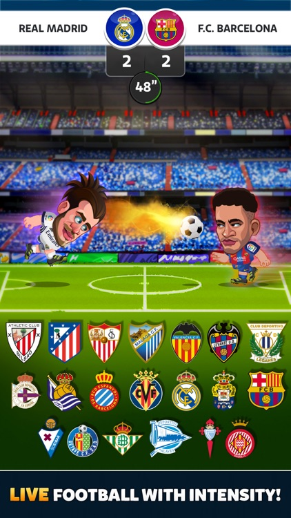 Head Soccer La Liga 2018 screenshot-0