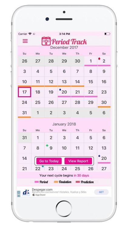 Period Track - Period Tracker screenshot-0