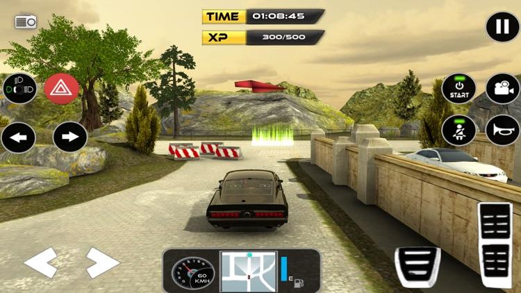 Classic Car Driving & Parking screenshot-3