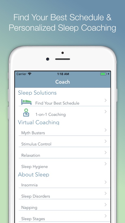 Sonic Sleep Coach Alarm Clock screenshot-4