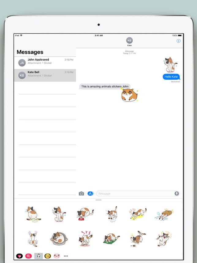 Animals Stickers Bundle On The App Store