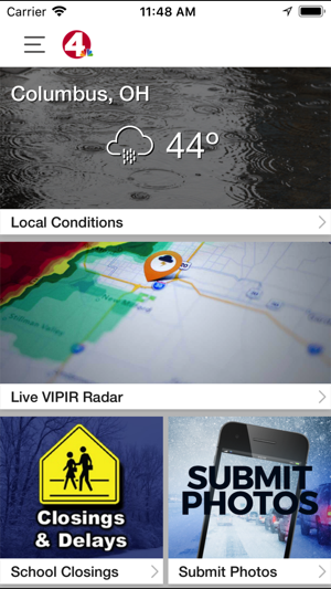 NBC4 Wx on the App Store