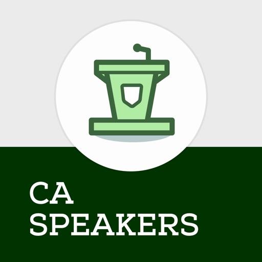 Cocaine Anonymous CA Speakers Icon