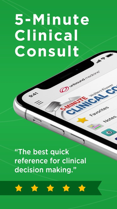5 Minute Clinical Consult review screenshots