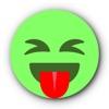 緑の顔文字 • Stickers