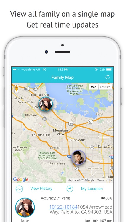FollowMe: Family Locator - GPS Phone Tracker